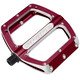 Spank Spoon Flat Pedals M red
